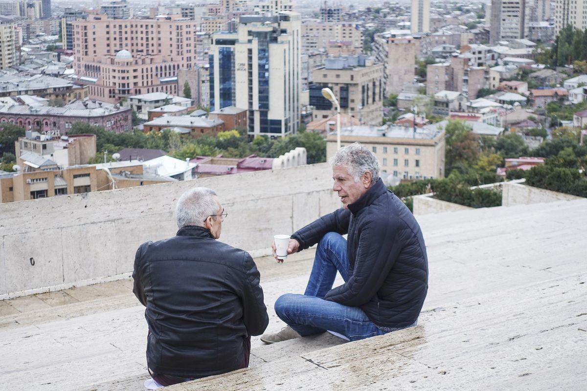 Beroemde bezoekers voor Armenië