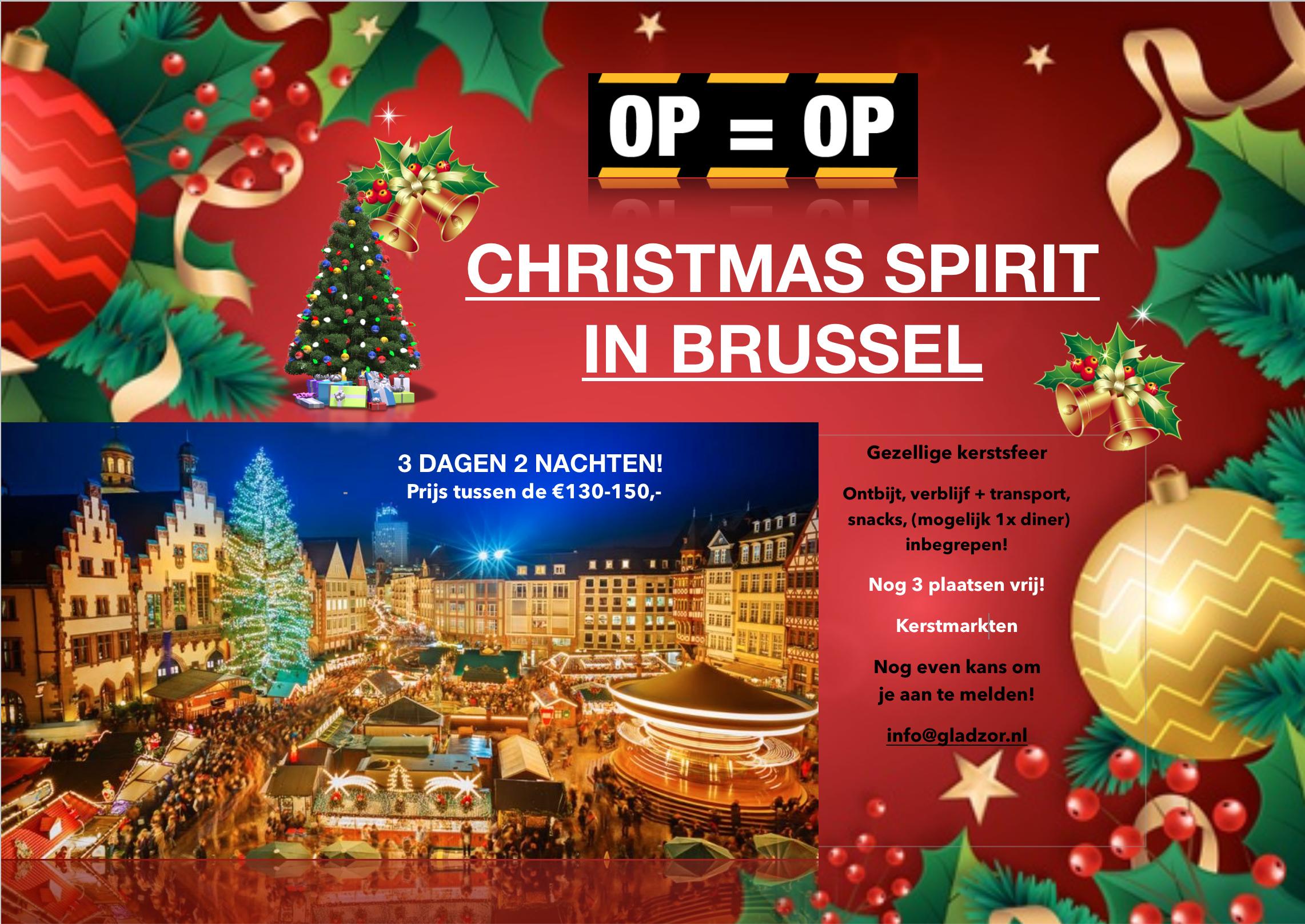 Christmas Spirit In Brussel!